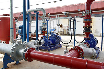 Large Piping for Diesel Plants
